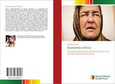 Bookcover of Economia e Ética