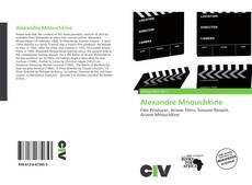 Buchcover von Alexandre Mnouchkine