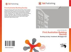 Bookcover of First Australian Building Society