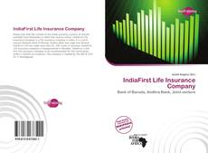Bookcover of IndiaFirst Life Insurance Company