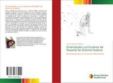 Capa do livro de Orientações curriculares de filosofia do Distrito Federal