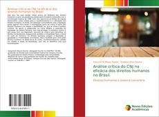 Bookcover of Análise crítica do CNJ na eficácia dos direitos humanos no Brasil