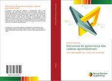Capa do livro de Estruturas de governança das cadeias agroindustriais