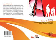Bookcover of Mukul S. Anand