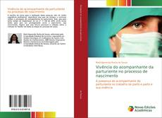 Capa do livro de Vivência do acompanhante da parturiente no processo de nascimento