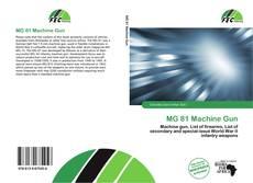 Capa do livro de MG 81 Machine Gun