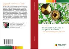 Capa do livro de Universidade multicampi e sua gestão acadêmica