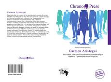 Portada del libro de Carmen Aristegui