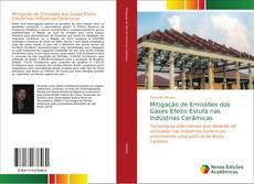 Portada del libro de Mitigação de Emissões dos Gases Efeito Estufa nas Indústrias Cerâmicas