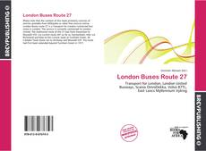 London Buses Route 27 kitap kapağı