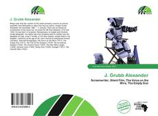 Bookcover of J. Grubb Alexander