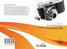 Couverture de David Williamson