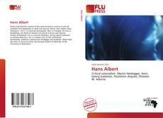 Buchcover von Hans Albert