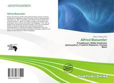 Buchcover von Alfred Baeumler