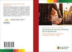 Capa do livro de Dicionário de Termos Técnicos das Engenharias