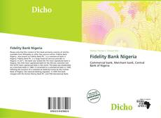 Bookcover of Fidelity Bank Nigeria
