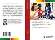 Capa do livro de Ensino interativo de Física utilizando materiais de baixo custo