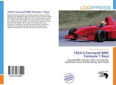 Capa do livro de 1954 II Cornwall MRC Formula 1 Race