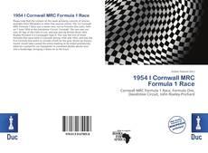 Capa do livro de 1954 I Cornwall MRC Formula 1 Race