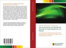 Buchcover von Clima Acústico em Rodovias Devido à Implantação de um Modal