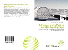 Bookcover of Entrepreneurship Policies in United Arab Emirates