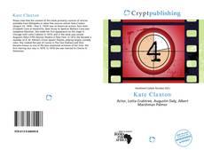Copertina di Kate Claxton