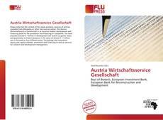 Copertina di Austria Wirtschaftsservice Gesellschaft