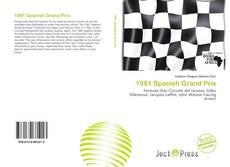 Capa do livro de 1981 Spanish Grand Prix
