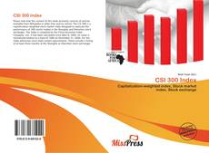 Bookcover of CSI 300 Index