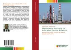 Capa do livro de Modelagem e Simulação de Colunas de Destilação Reativa