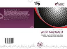 Bookcover of London Buses Route 52