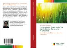 Обложка Estruturas de Governança na Agroindústria Canavieira Paranaense