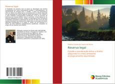 Capa do livro de Reserva legal