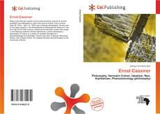 Buchcover von Ernst Cassirer