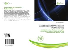 Bookcover of Association for Women in Mathematics