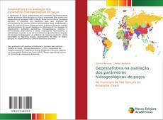 Capa do livro de Geoestatística na avaliação dos parâmetros hidrogeológicos de poços