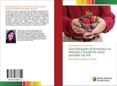 Capa do livro de Considerações Nutricionais na Atenção à Saúde do idoso portador de HIV