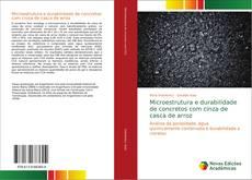Обложка Microestrutura e durabilidade de concretos com cinza de casca de arroz