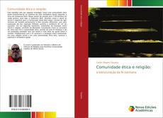 Buchcover von Comunidade ética e religião: