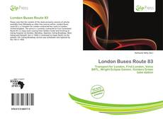 London Buses Route 83的封面