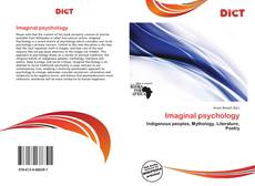 Bookcover of Imaginal psychology