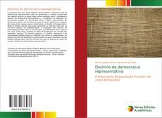 Bookcover of Declínio da democracia representativa