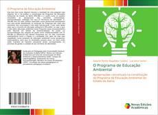 Bookcover of O Programa de Educação Ambiental