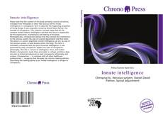 Bookcover of Innate intelligence
