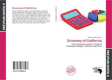 Copertina di Economy of California
