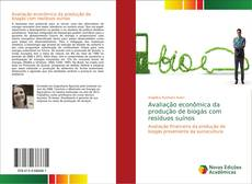 Capa do livro de Avaliação econômica da produção de biogás com resíduos suínos