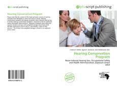 Buchcover von Hearing Conservation Program