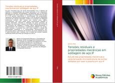 Capa do livro de Tensões residuais e propriedades mecânicas em soldagem de aço IF