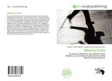 Capa do livro de Alberto Cinta