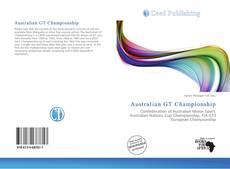 Portada del libro de Australian GT Championship